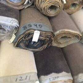 Cheap Carpet Assorted Wool Rolls